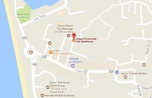 Angus O'Tool's google map